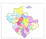 This is the map showing wayanad district