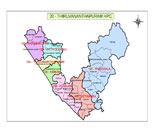 This is the HPC map of trivandrum