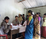 Enrollment of voter