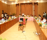 Meeting with district collectors/ police officers